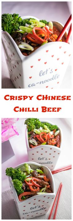 Crispy Chinese Chilli Beef