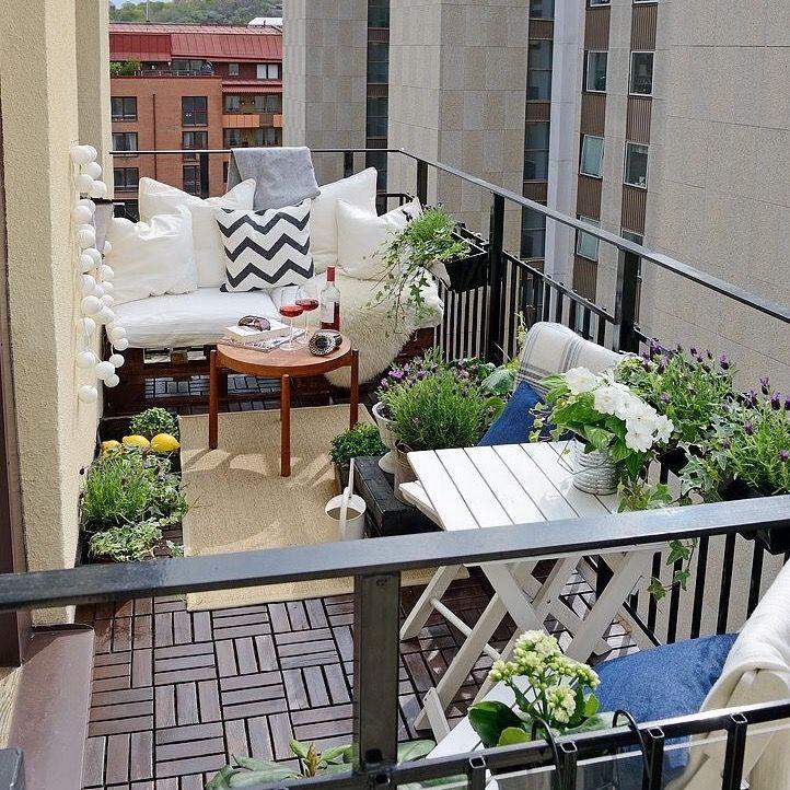 Balcony ideas balcony Pinterest Balcon terraza, Balcon - Decoracion De Terrazas Con Plantas