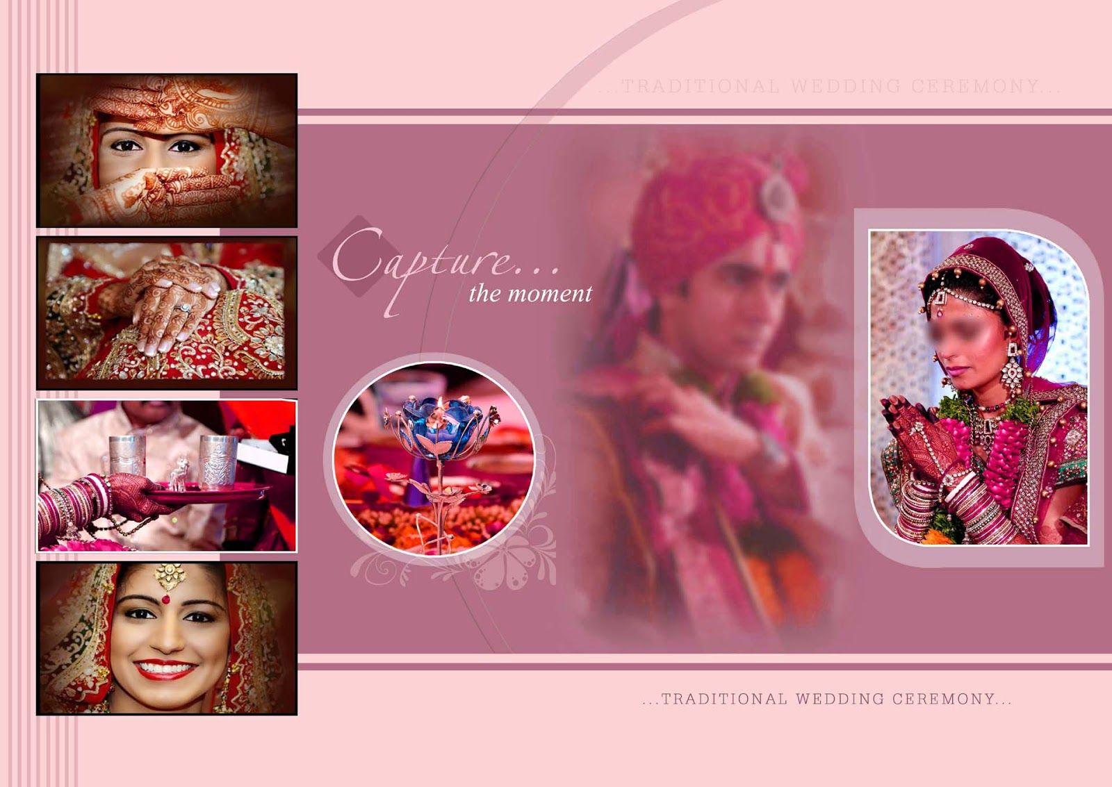 Indian Wedding Album Cover Design 17x24 Psd Templates Album Design