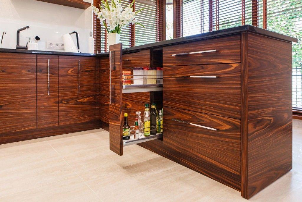 Beautiful Veneer Kitchen Cabinet Doors Rosewood Kitchen Kitchen Cabinet Interior Cabinet Doors