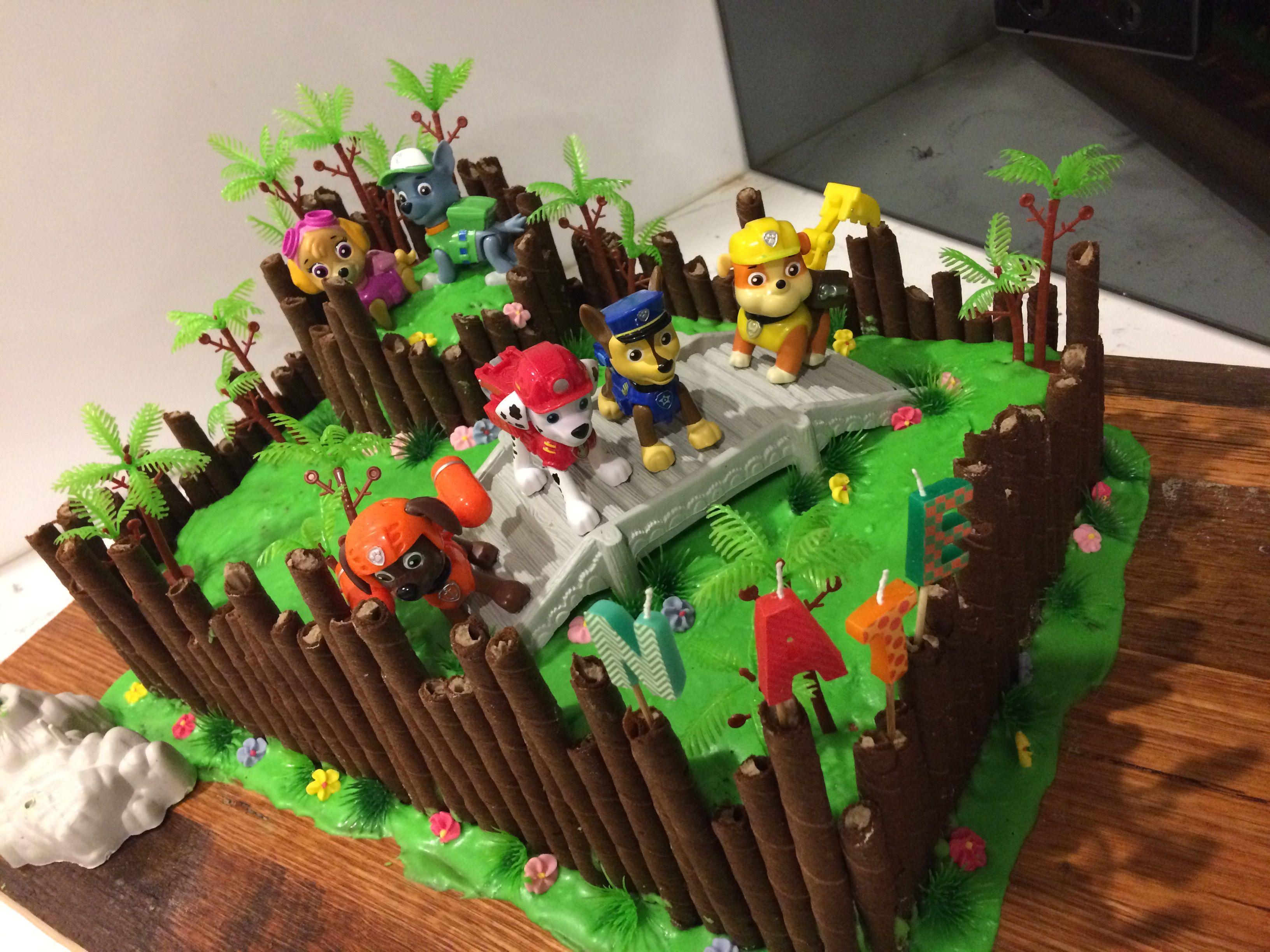 Paw patrol jungle cake kindergeburtstag geburtstag geburt - Geburtstagsideen zum 90 ...
