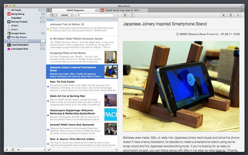 Newsrack Iphone And Ipad App By Omz Software Genre News Application Price 7 99 Http Click Linksynergy Com Fs Bin Apple Apps Ipad Apps Japanese Joinery