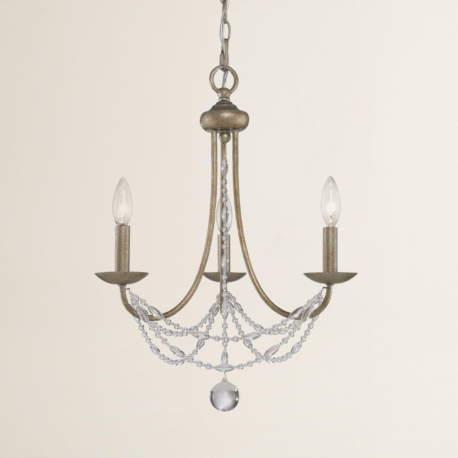Reynal Light Crystal Chandelier Mini chandelier Chandeliers and