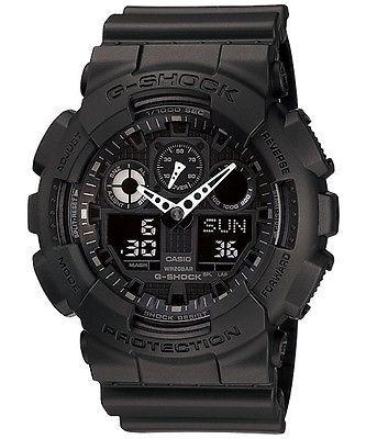 Casio G-Shock Men's Watch GA-100-1A1 GA-100-1A1DR