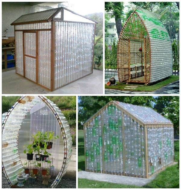 How To Build A Greenhouse From Recycled Plastic Bottles Garden Greenhouse Plastic Bottle Greenhouse Diy Greenhouse Build A Greenhouse