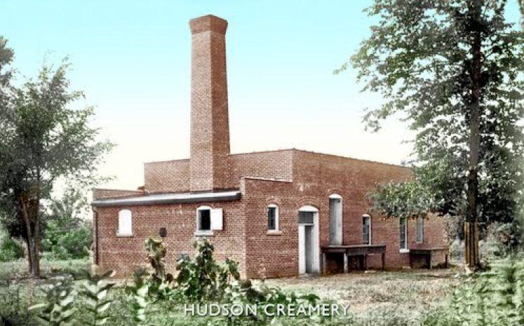 Old Hudson Creamery circa 1910