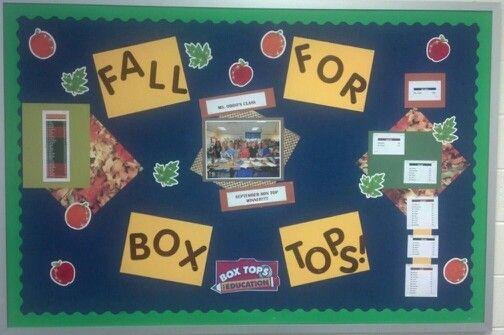 Fall results bulletin board