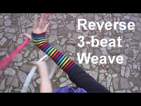The 3 beat weave toss hoop tutorial-2 versions youtube.