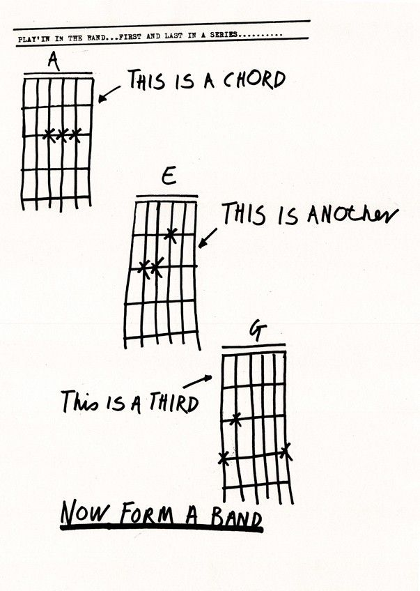 3 Chords Go Form A Band Music Geeksters Pinterest Music Punk