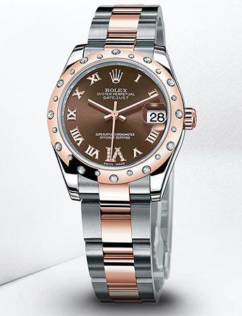 Women s Rolex Oyster Perpetual Datejust 31mm Watch  c3ca7d333e