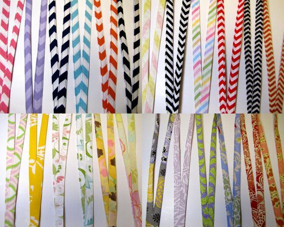 Fabric Lanyards Pick From over 70 Patterns 1/2 Inch Wide Chevrons Florals Dots Zebra