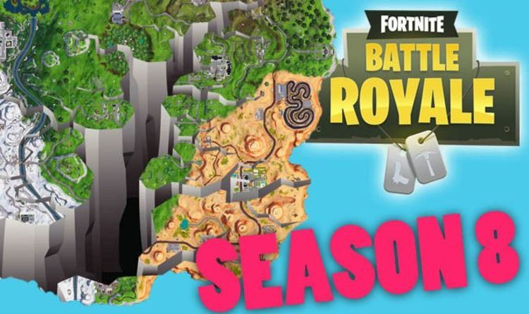 Fortnite season 8 map Another new location LEAKS, map to