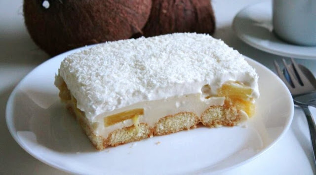 Ananas Kokos Traum In 2020 Backerei Rezepte Ananas Kokos Kuchen Und Torten