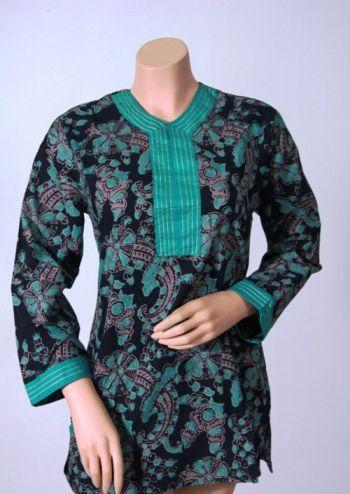 imodeli ibajui atasan batik iwanitai modern iModeli Batik iKerjai