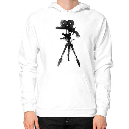 Shoot camera Hoodie (on man)