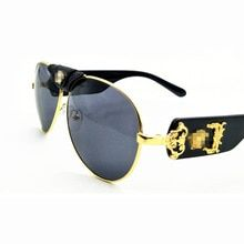 2d1713409 2019 Fashion new men women sunglasses brand designer glasses high quality  retro sun glasses pilot style