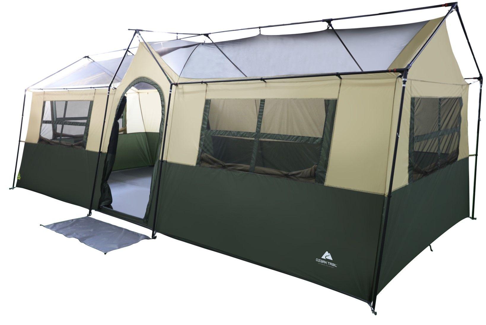 Verbazingwekkend Ozark Trail Hazel Creek 12 Person Cabin Tent - Walmart.com JZ-69