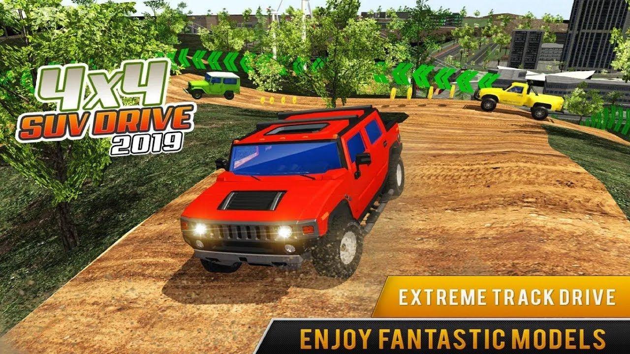 Offroad Jeep Truck Driving 2019 Suv Prado Car Racing Simulator