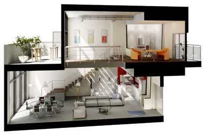 Loft peque o buscar con google little loft pinterest for Cuarto tipo estudio