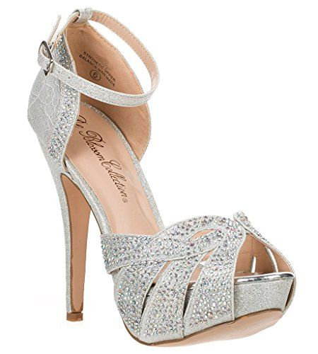 Bridal Wedding Formal Evening Party Strap Peep Toe Lace Glitter Sandal VICE-93 DeBlossom http://www.amazon.com/dp/B00VMX10AI/ref=cm_sw_r_pi_dp_iVEjvb0JEYNWT