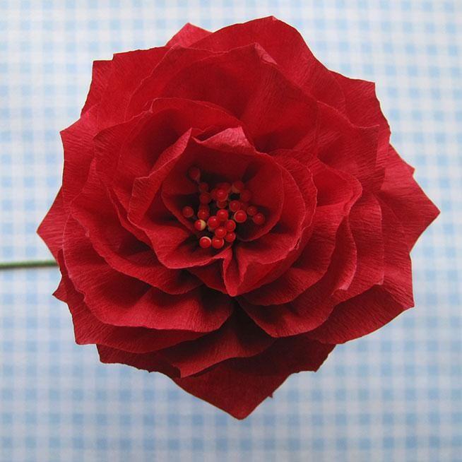 DIY Tutorial: DIY Construction Paper / DIY Paper Flowers - Bead&Cord