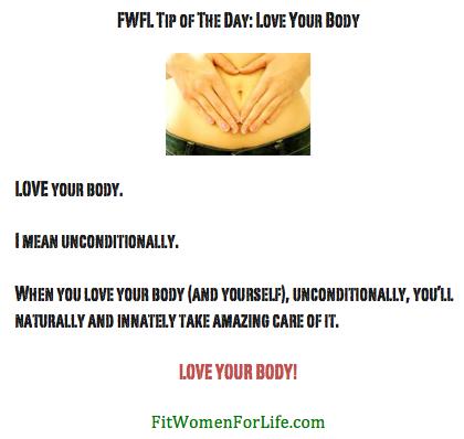 http://fitwomenforlife.com Love Your Body!