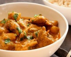 Poulet facile au curry au Cookeo