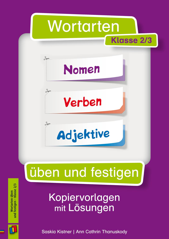 Wortarten üben und festigen – Klasse 2/3 | Schule | Pinterest
