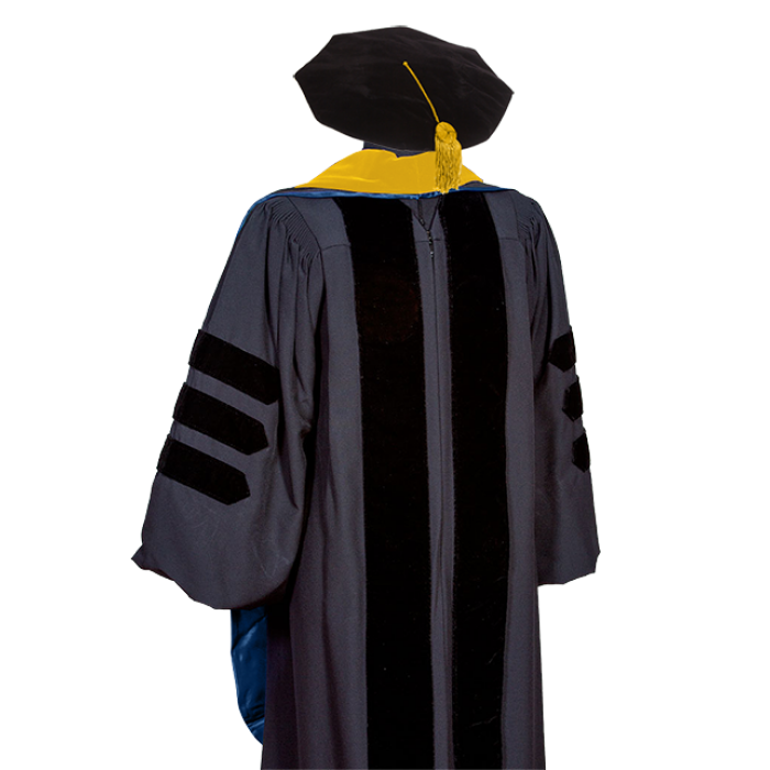 Doctor Gown, Tam, Hood and Tassel - Caps & Gowns - My Grad