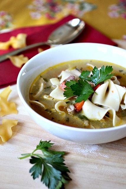 Classic Chicken Noodle Soup Dinners Pinterest Soup Noodles