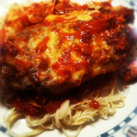 Chicken parmesan fast easy dinner tried and true food we chicken parmesan fast easy dinner forumfinder Gallery