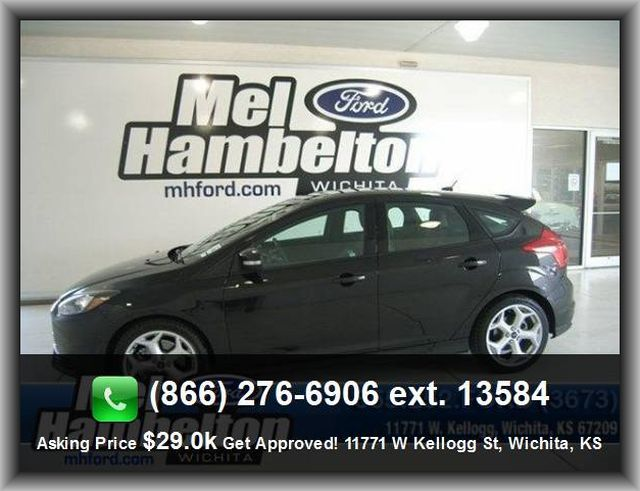 2013 Ford Focus St Hatchback 4 Wheel Abs Brakes Rear Spoiler