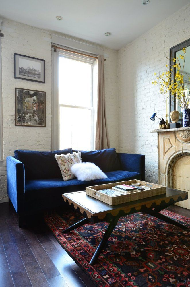 A New York Couple Shares 350 Square Feet | Apartment therapy ...