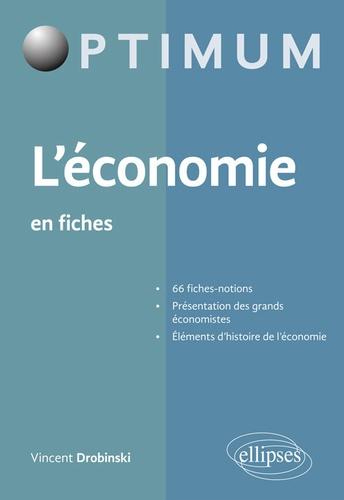 L Economie En Fiches Vincent Drobinski Economie Gestion Economie Telechargement