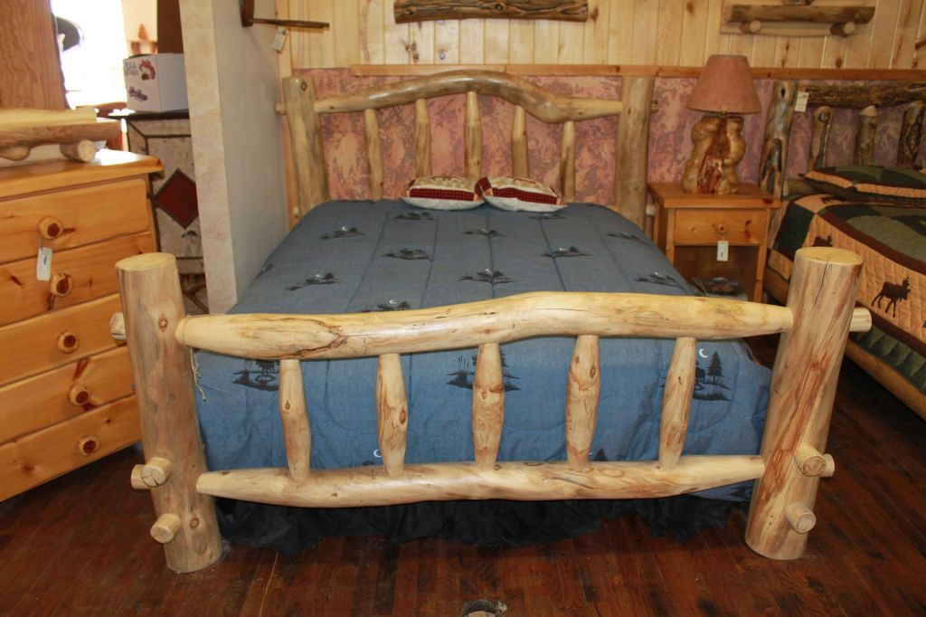 Wooden Bed Frame With Awesome Hues And Styles Neubertweb Com
