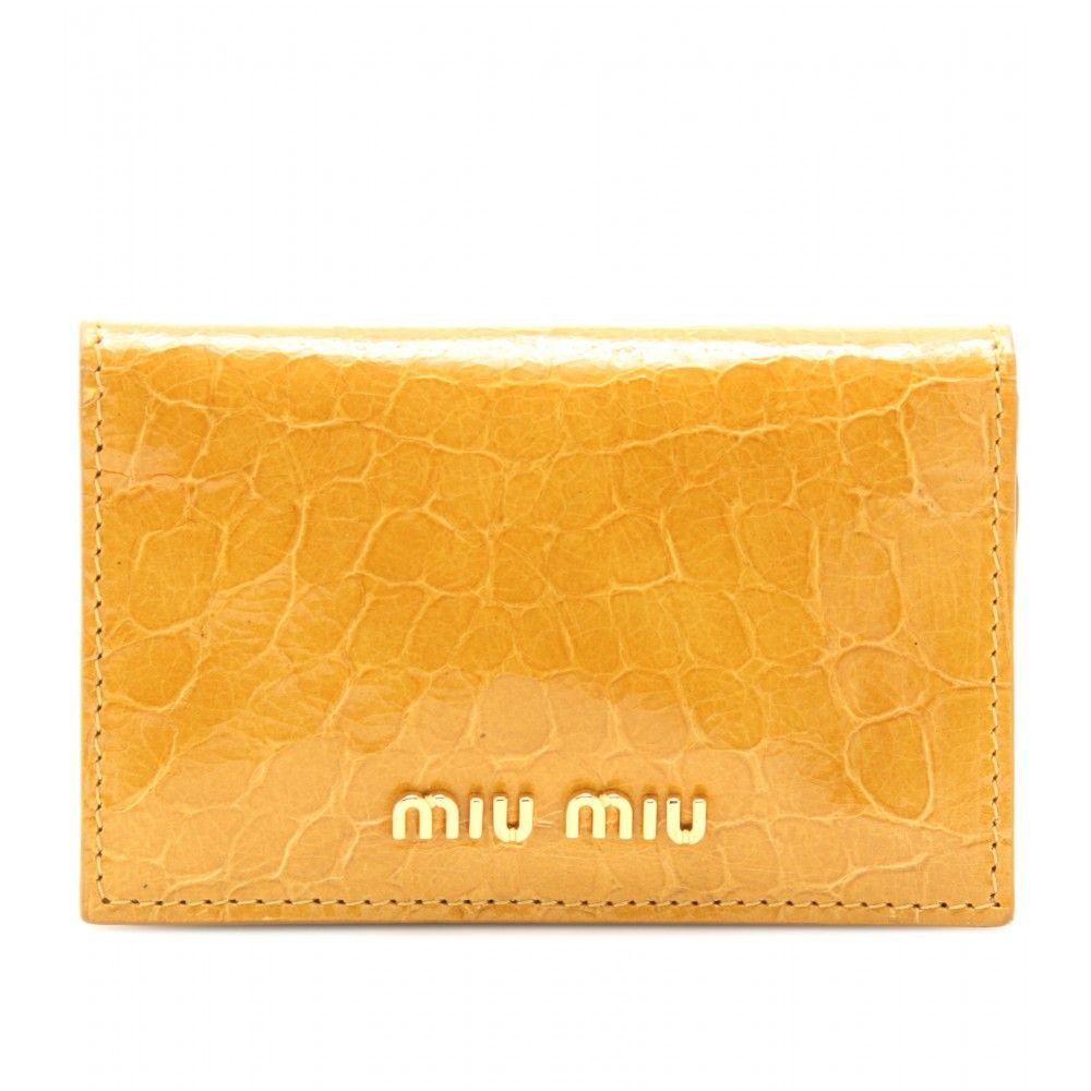 38bda8d3750 mytheresa.com - Miu Miu - SNAKE EMBOSSED POUCH - Luxury Fashion for Women    Designer clothing, shoes, bags