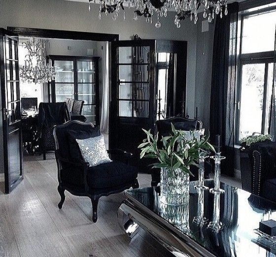 Hollywood Glam Living Room Hollywood Thing Home Gothic Interior Interior Design