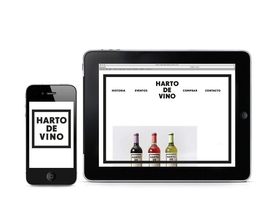 HARTO DE VINO on Behance