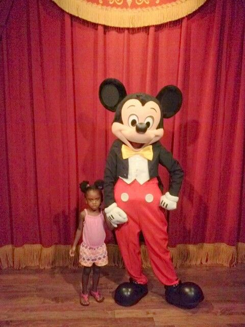 Miss Kennedi and Mickey....again! (her 5th trip to Disney this year!)