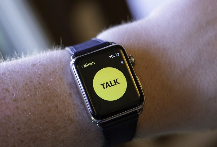 The Vital walkietalkie apps for Android and iOS Apple