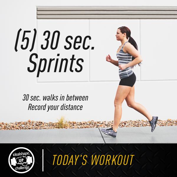 30 second sprints