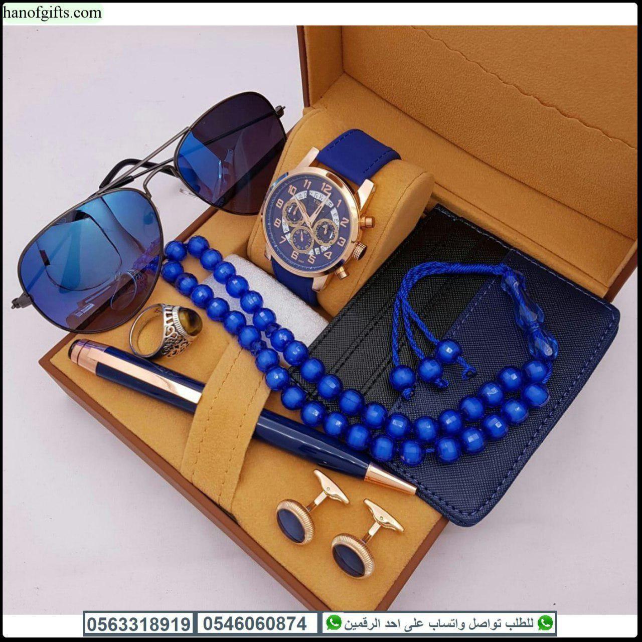 ساعات شكل مونت بلانك رجالي مع قلم و كبك و محفظة و نظارات هدايا هنوف Wearable Smart Watch Watches