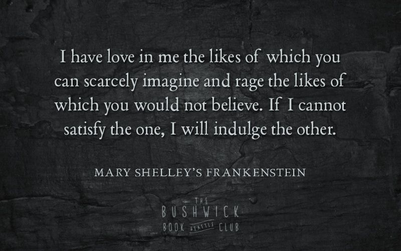Frankenstein Quotes 10 Quotes From Mary Shelley's Frankenstein  The Bushwick Book