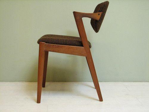 Danish Modern Z Chair By Kai Kristiansen 1960 S Midcentury