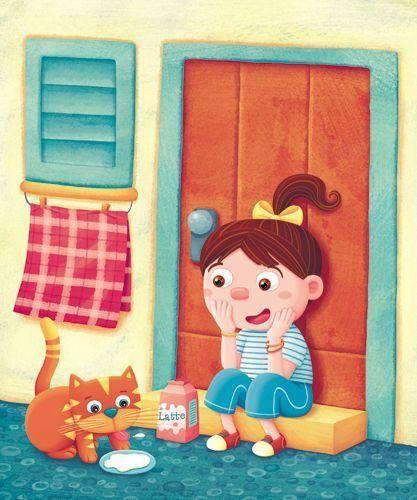 Silvia Sponza - professional children's illustrator, view portfolio
