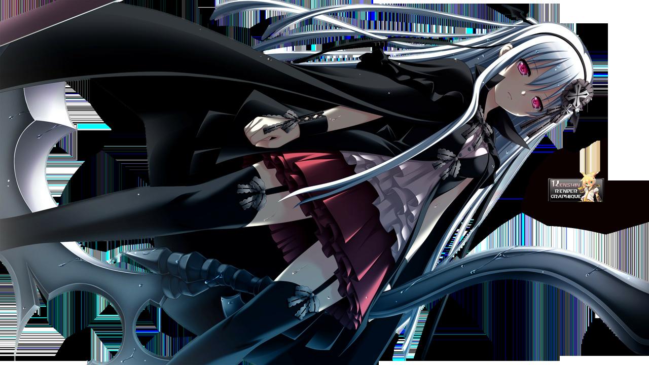 Shinigami no Testament Alhazerd Vivi Render Anime