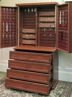 Jewelry Cabinet Google Search