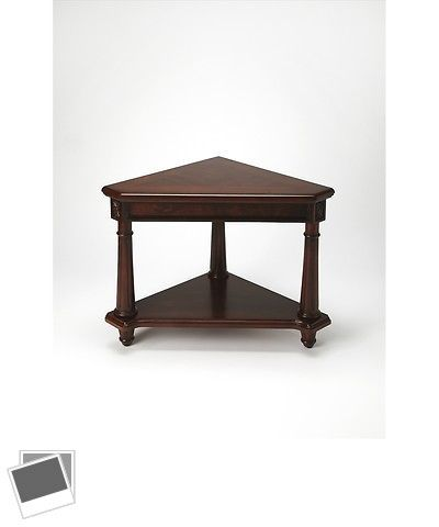 Other handcrafted home accents 160657 antwerp plantation cherry other handcrafted home accents 160657 antwerp plantation cherry corner table plantation cherry watchthetrailerfo