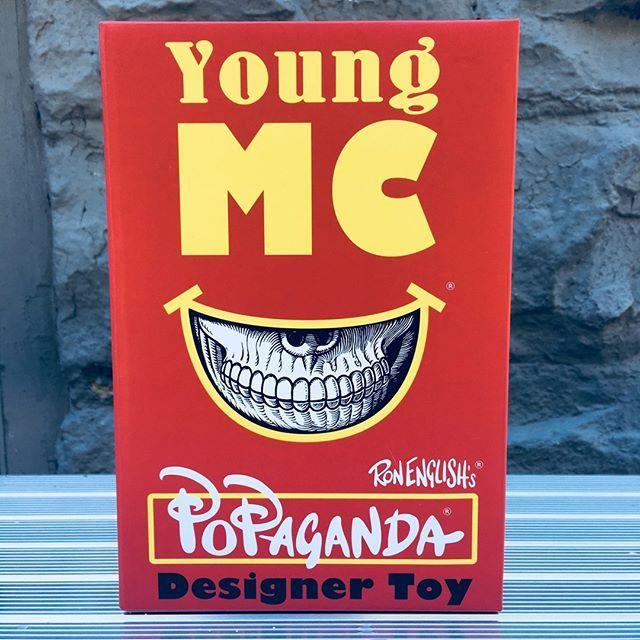Popaganda Ron English Young MC Designer Vinyl Figure by Ron English