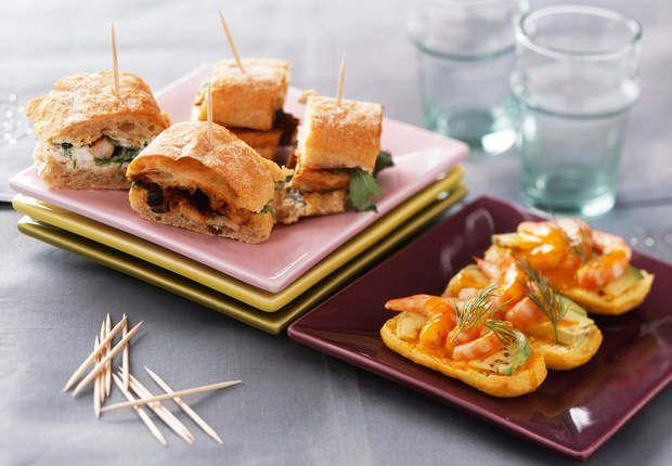 Duo de sandwichsVoir la recette du Duo de sandwichs >>